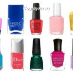 Самый стойкий лак для ногтей: ТОП 10 популярных брендов